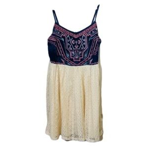 Maurices | Embroidered Lace Dress